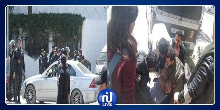 العاصمة: غاز مسيل للدموع ومواجهات بين طلبة ووحدات الأمن