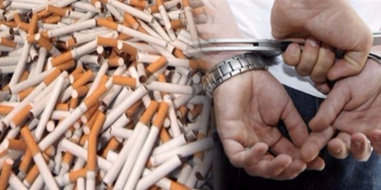 تطاوين: حجز سيارة محملة بـ16 ألف علبة سجائر مهرّبة
