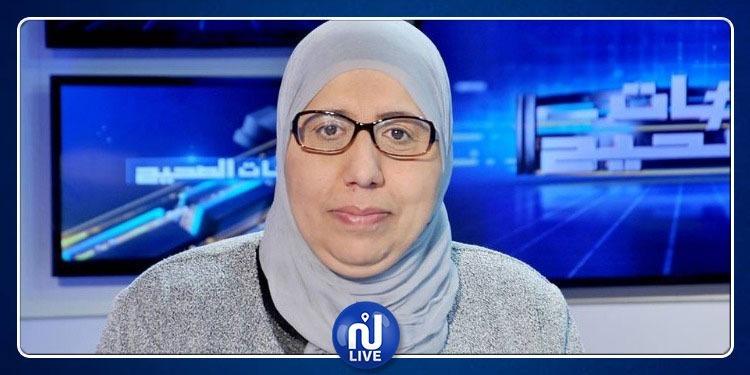 نور الدين البحيري: يمينة الزغلامي تلقت رسالة تهديد