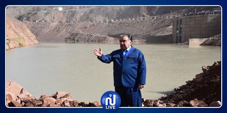 Le plus haut barrage du monde…est au Tadjikistan