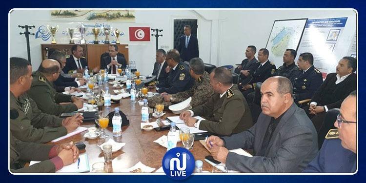 مدنين: وزير الداخلية يشرف على المجلس الجهوي الاستثنائي للأمن
