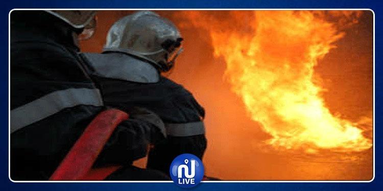 الثالث وسط العاصمة في 3 أيام: نشوب حريق في أحد محلات سوق البلاط