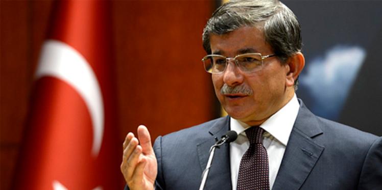 داود أوغلو: تركيا لن تسمح بانتهاك حدودها