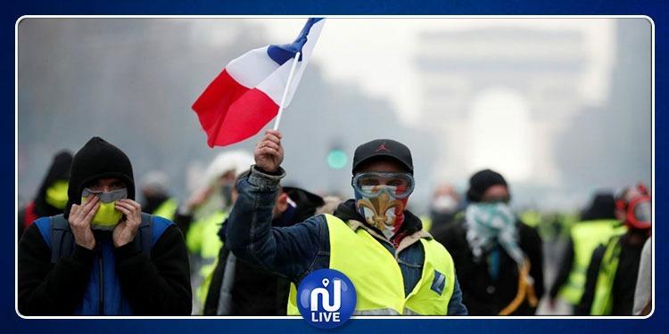 فرنسا:عودة احتجاجات السترات الصفراء ودعوة لمزيد التعبئة في شهر مارس