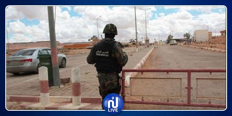 القبض على 14  شخصا من جنسيات إفريقية بصدد  اجتياز الحدود التونسية خلسة