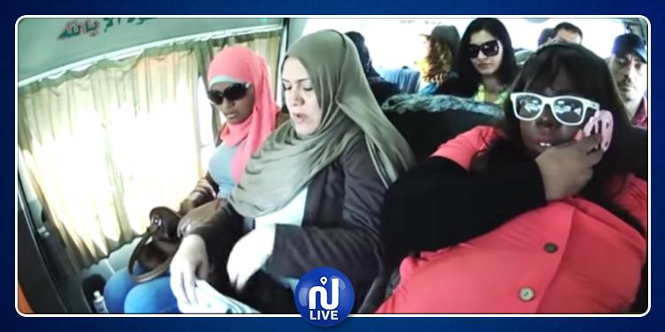 بالفيديو : مزحة  ثقيلة من  ممثلة مصرية تنقلب عليها
