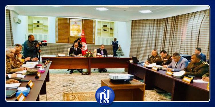 وزير الداخلية يشرف على المجلس الجهوي للأمن بتطاوين