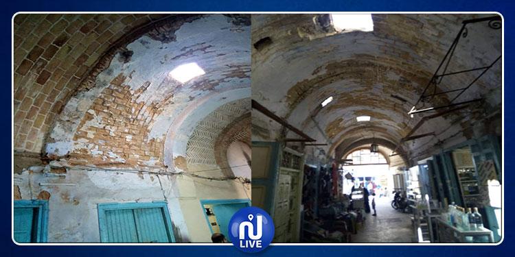 القيروان : التجار  يحذرون من انهيار أسقف و جدران المدينة العتيقة