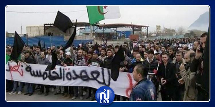 إعتقال عشرات المتظاهرين في الجزائر