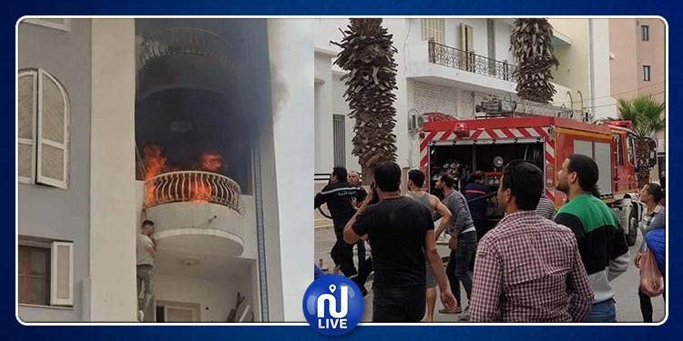 Sousse-Incendie: 2 enfants meurent carbonisés