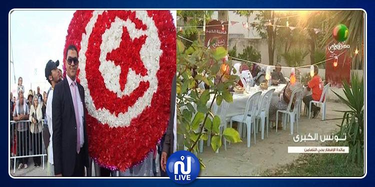 لأنه رفض التدخل لمنع مائدة إفطار خليل تونس : إقالة معتمد حي التضامن