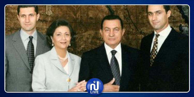 أول ظهور علني لحفيد حسني مبارك (صورة)