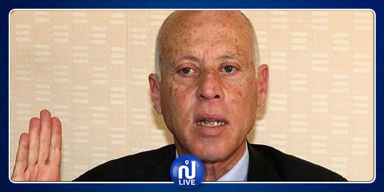 قيس سعيد : الشباب سيعاقب الأحزاب وحظوظ المستقلين تنامت