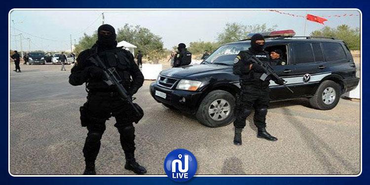 تفتيش دقيق لمقر وحدة مكافحة الإرهاب بالقرجاني