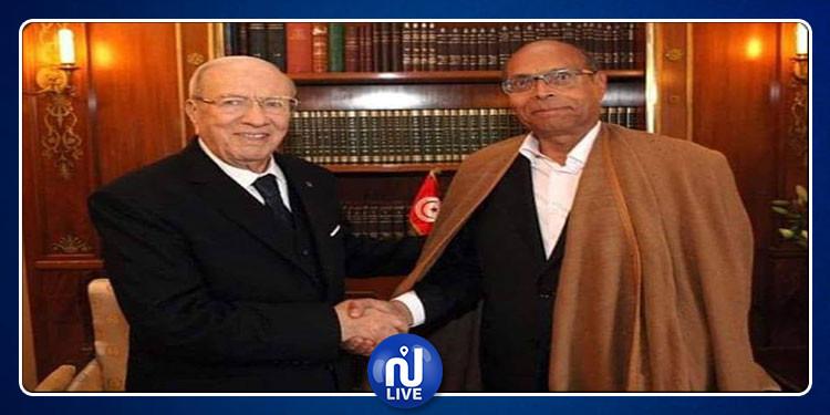 المرزوقي يعلق على الحالة الصحية لرئيس الجمهورية
