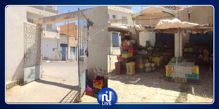 الحي التجاري بغمراسن بين مطرقة التهميش و سندان الوعود المتتالية (صور)