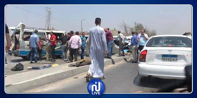 مصر: 12 قتيلا و11 جريحا في حادث مروع