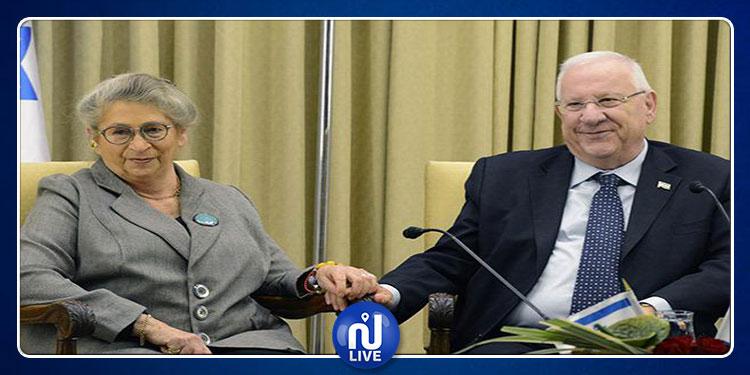 وفاة زوجة الرئيس الإسرائيلي