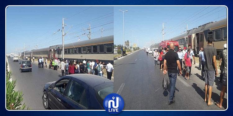 المنستير : قطار يدهس امرأة قبالة مطار المنستير الدولي