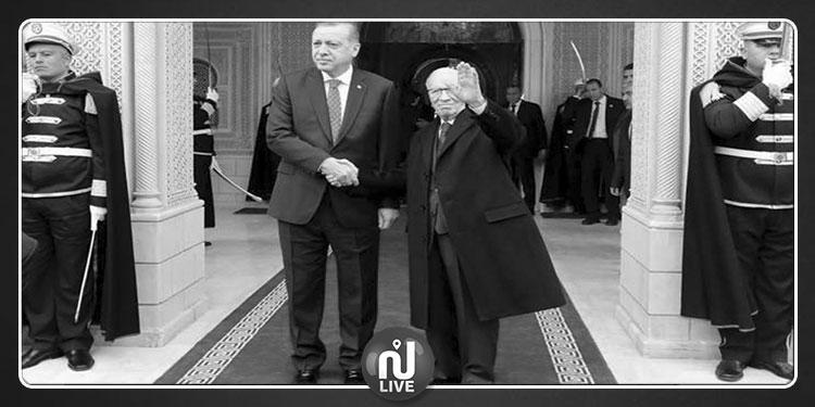 رجب طيب أردوغان ينعى الباجي قائد السبسي