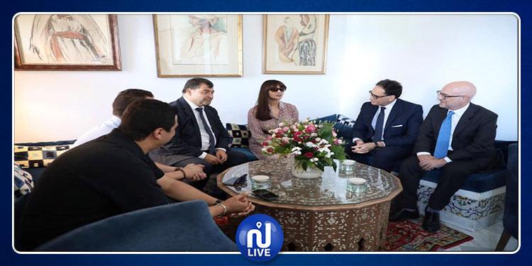 مونيكا بيلوتشي تلتقي وزيري الثقافة و السياحة (صور)