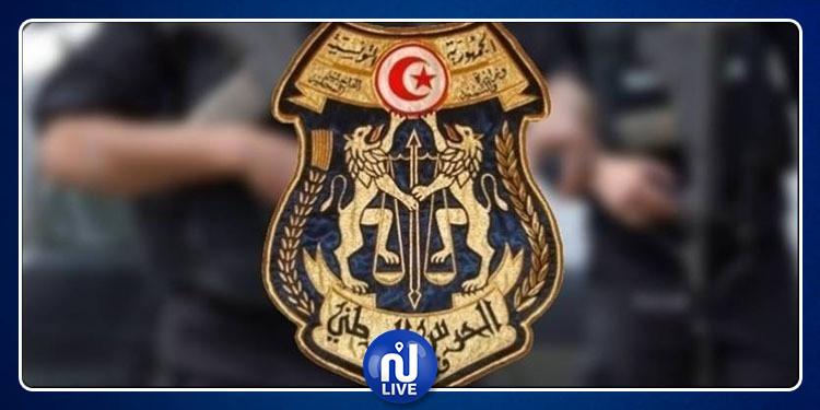 وحدات الحرس  الوطني تحجز بضائع مهربة بقيمة 295 ألف دينار