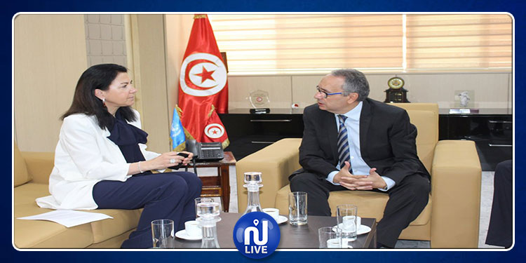 فحوى لقاء وزير العدل بالمديرة التنفيذية للّجنة الأمميّة لمكافحة الإرهاب