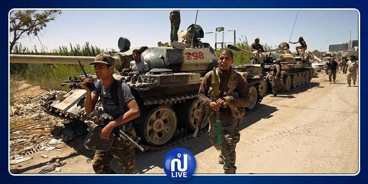 يبعد 14 كم على الحدود التونسية: قوات خليفة حفتر تقصف مخبأً للأسلحة