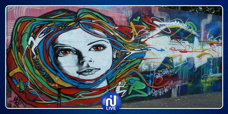 تطاوين: جداريات فنيّة ورسومات فلكلورية من إنجاز شباب الجهة