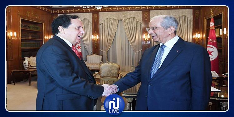 الوضع في ليبيا محور لقاء رئيس الجمهورية بوزير الخارجية