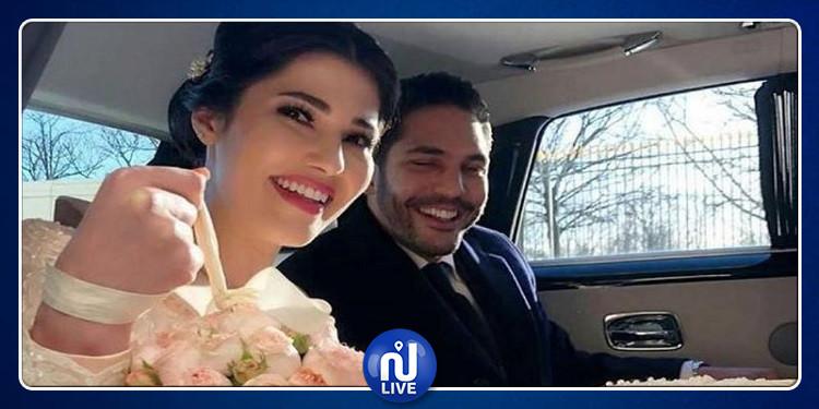 تحيل زوجها عليها..مرام بن عزيزة تُعلّق  (صور)