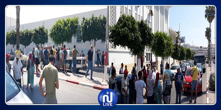 سوسة : اضراب لأعوان البريد و احتقان في صفوف المواطنين