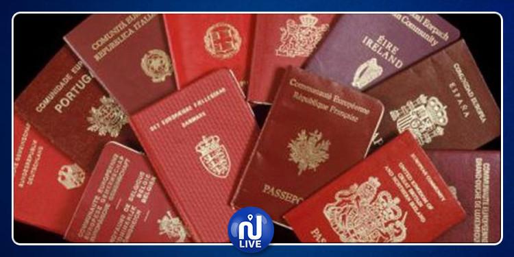 آلاف التونسيين تحصلوا على هذه الجنسيات