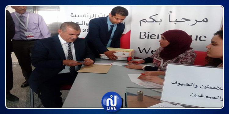 الهاشمي الحامدي يقدم ملف ترشحه للإنتخابات الرئاسية