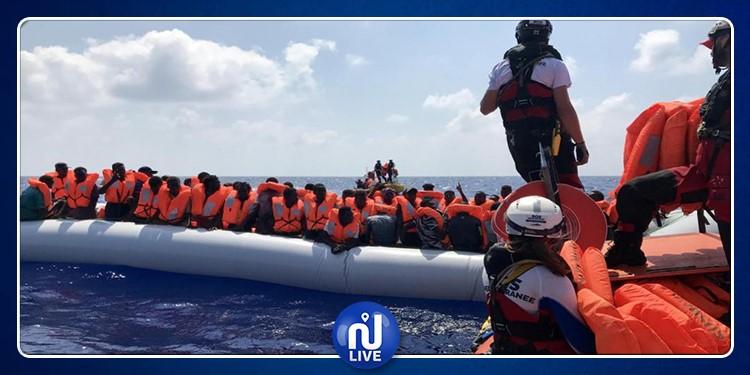 توزيع 356 مهاجر غير شرعي على 6 دول