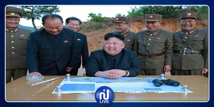 كيم جون أون يشرف على تجربة سلاح جديد