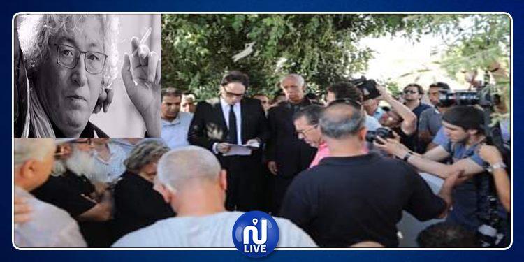 'يمسيك بالخير سي نجيب'..وزير الثقافة يؤبن فقيد السينما التونسية