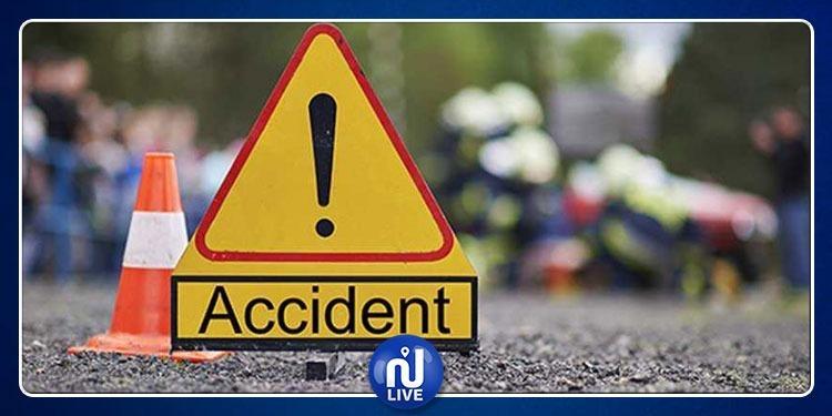 مدنين: وفاة إمرأة وإصابة 12 شخصا في حادث مرور