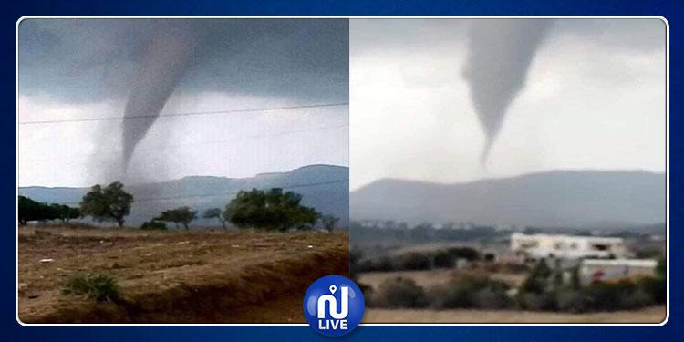 نابل: إعصار يضرب فرتونة(فيديو+صور)