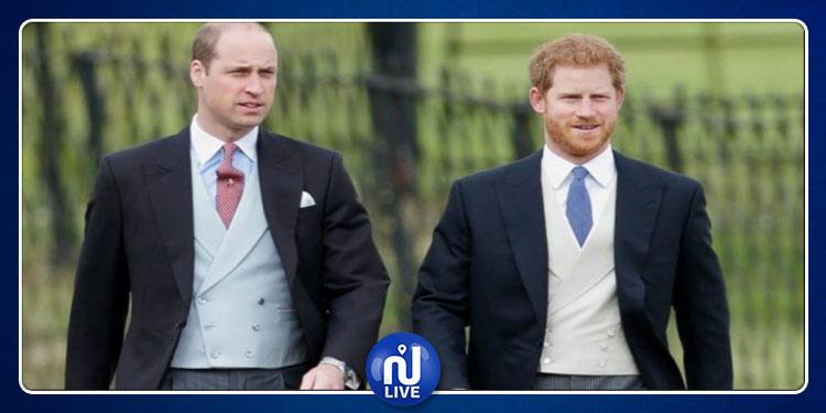 سر توتر العلاقة بين الأميرين ويليام وهاري