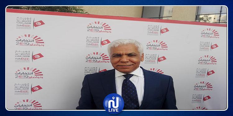 الصافي سعيد يودع ملف ترشحه للإنتخابات الرئاسية