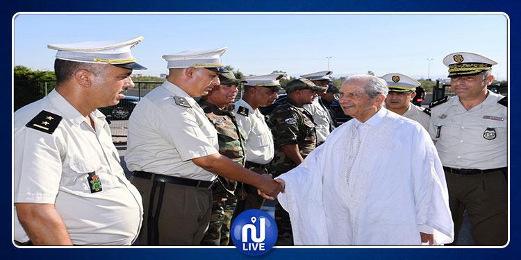 محمد الناصر يؤدي زيارة إلى الإدارة الفرعية للطرقات السيارة بتركي