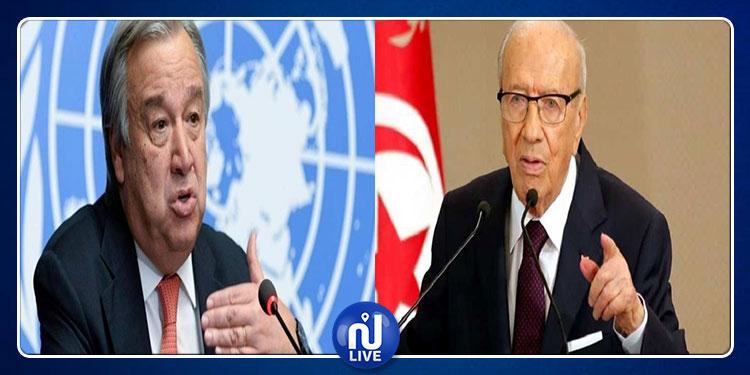 الأمين العام للأمم المتحدة: وفاة الباجي قائد السبسي خسارة كبيرة للمنطقة بأسرها