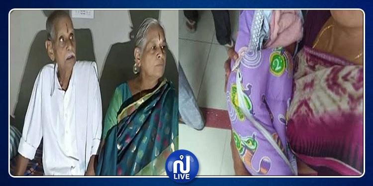 هندية تنجب توأما وعمرها 74 عاما! (صور+فيديو)