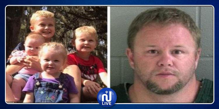 جريمة مروعة: يقتل زوجته وأطفاله ويخفي جثثهم لأسابيع