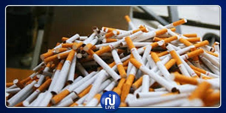 القصرين : حجز 7450 علبة سجائر مخزنة بغرض المضاربة