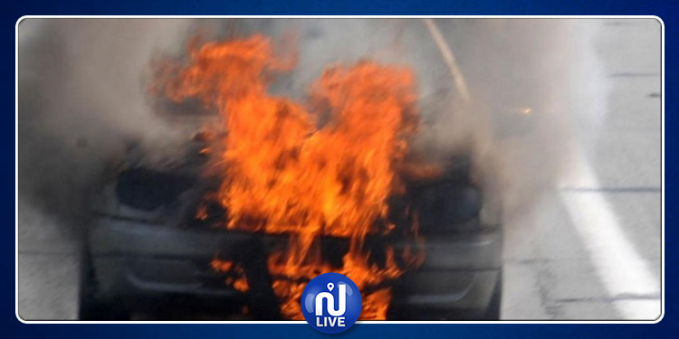 بئر الحفي: تعرض إطار أمني و إبنه إلى حروق بليغة جراء إحتراق سيارته
