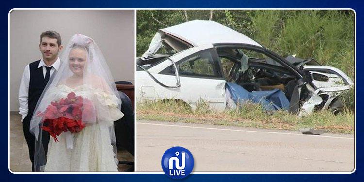 وفاة عروسين بعد دقائق من عقد قرانهما
