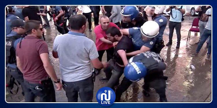 السلطات التركية تعتقل عشرات المعارضين للهجوم العسكري على سوريا