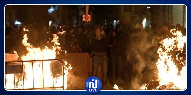 تصاعد وتيرة الاحتجاجات في برشلونة